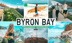 Byron Bay Mobile & Desktop Lightroom Presets