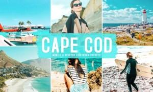 Cape Cod Mobile & Desktop Lightroom Presets