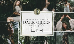 DARK GREEN - Lightroom Presets 5987702