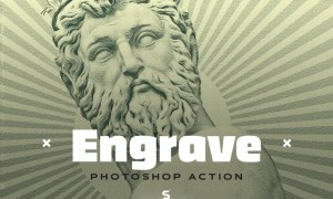 Engrave Photoshop Action Kit - & Duotone FX GLTNRVG