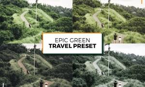 Epic Green Travel Lightroom Presets 5963169