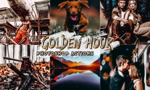 Golden Hour Photoshop Actions EV7TTAC