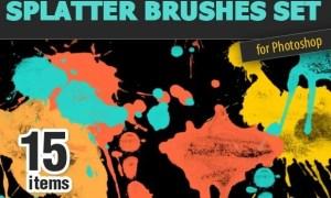 Inkydeals - Grunge Brushes Mega Set: 330 High-Quality Brushes