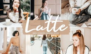 Latte Mobile & Desktop Lightroom Presets ZJZJKBF