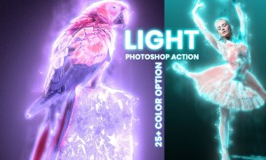 Light Photoshop Action 5922486