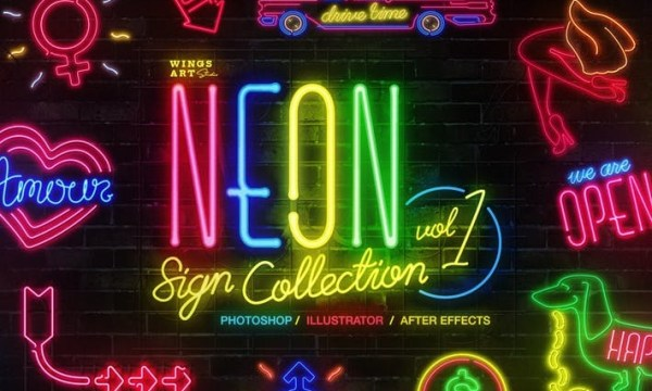 Neon Sign Collection: Volume One ECEEFPA