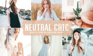 Neutral Chic Mobile & Desktop Lightroom Presets