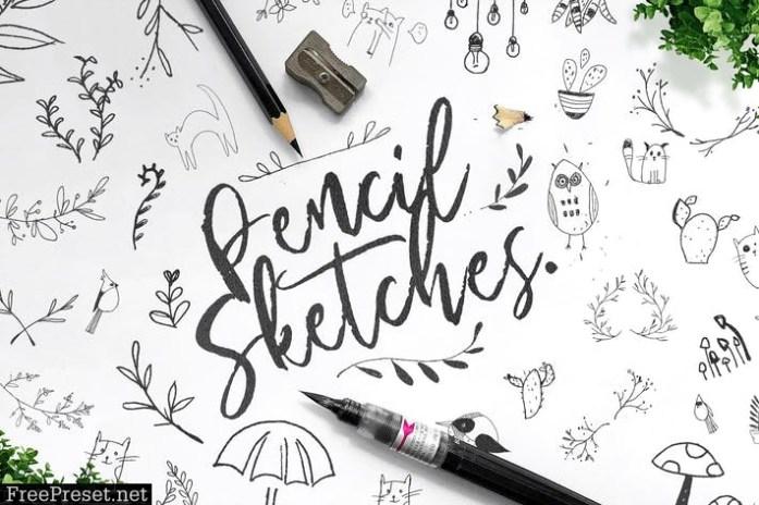 Pencil Sketches Bundle 2LYYT2