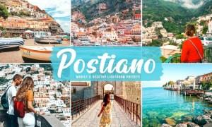 Postiano Mobile & Desktop Lightroom Presets