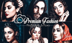 Premium Skin Photoshop Actions
