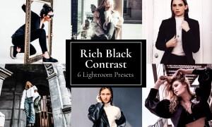 Rich Black Contrast Preset Lightroom 5884735