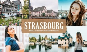 Strasbourg Mobile & Desktop Lightroom Presets