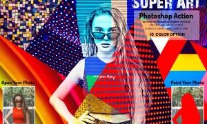 Super Art Photoshop Action 5922257