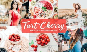 Tart Cherry Mobile & Desktop Lightroom Presets