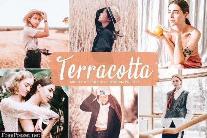 Terracotta Mobile & Desktop Lightroom Presets