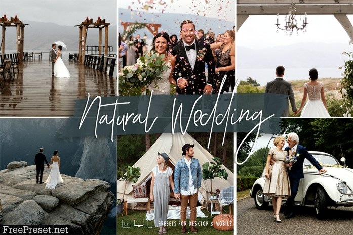 The Natural Wedding Lightroom Preset Collection