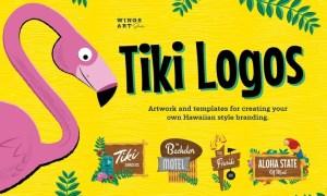 Tiki Logo Design Kit DGUJKXG