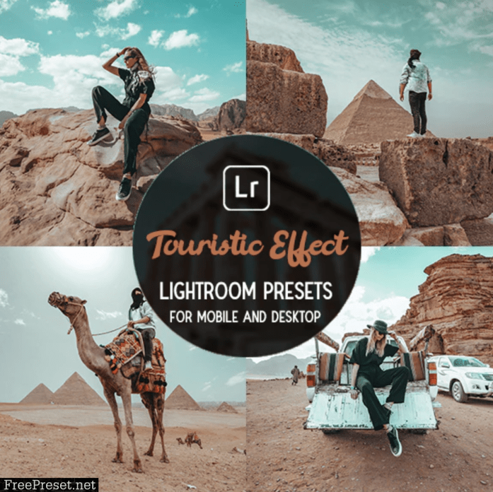 Touristic Effect - Lightroom Presets 30044605