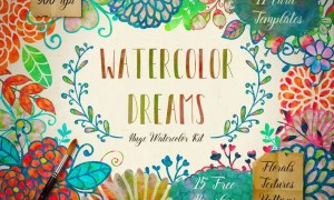 Watercolor Kit + Free Brushes REDE22