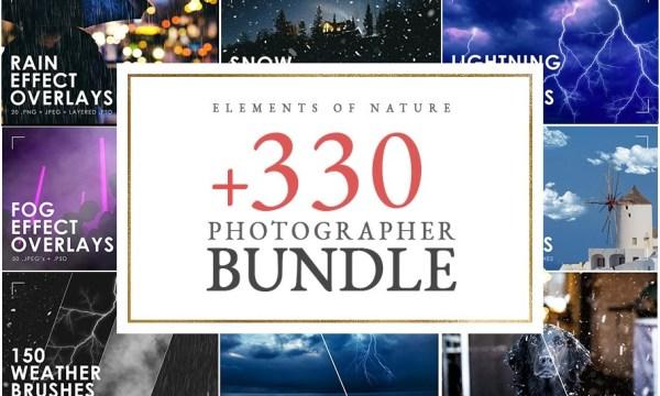 Weather Photo Overlays Bundle 4764031