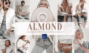 10 Almond Mobile & Lightroom Presets 5956379