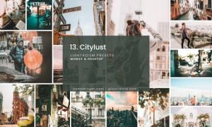 13. City Lust - Lightroom Presets