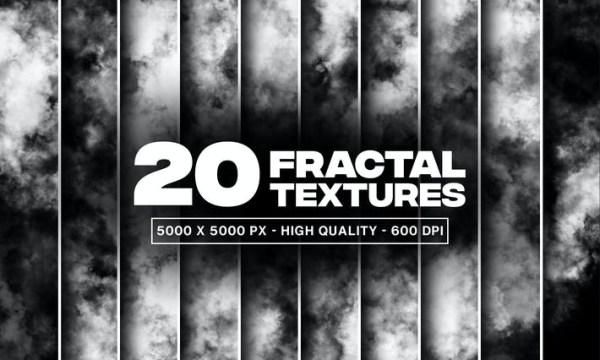 20 Fractal Textures and Overlays 78XTZUZ