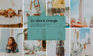 23. Mint & Orange