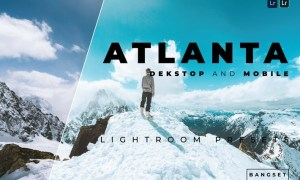 Atlanta Desktop and Mobile Lightroom Preset