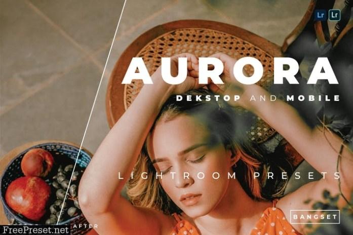 Aurora Desktop and Mobile Lightroom Preset