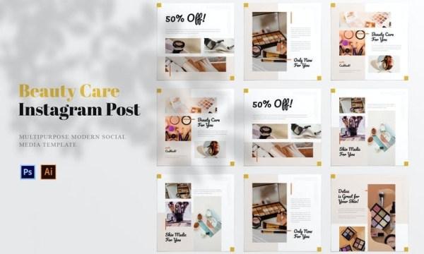 Beauty Care Social Media Post WV2EKWS