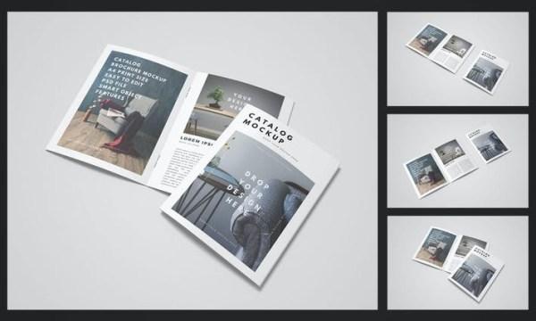 Brochure Catalog Mockup 7JF297N