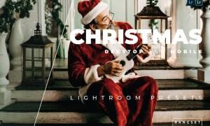Christmas Desktop and Mobile Lightroom Preset