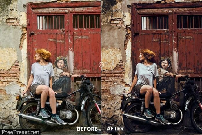 Cinematic Look Effect Action & Lightroom Preset