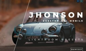 Jhonson Desktop and Mobile Lightroom Preset