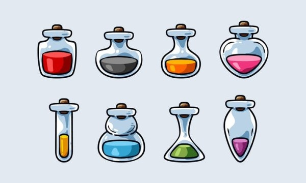 Set Potion And Elixir Icon ACC9XJ8