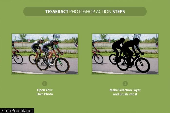 Tesseract Photoshop Action 4284639