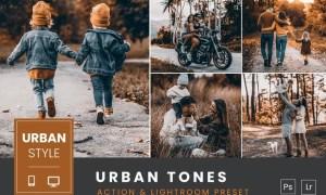 Urban Tones Action & Lightroom Preset