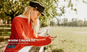 Warm Cinematic Action & Lightroom Preset