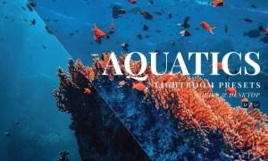 Aquatics Mobile and Desktop Lightroom Presets