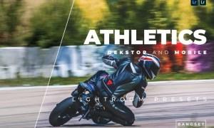 Athletics Desktop and Mobile Lightroom Preset