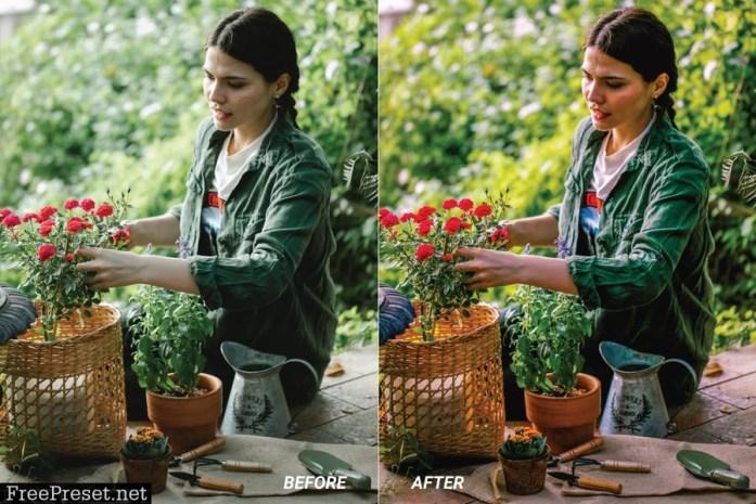 Botanical Mobile and Desktop Lightroom Presets