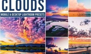 Clouds Mobile and Desktop Lightroom Presets