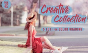 Creative LUTs Pack2 - Video color grading filters