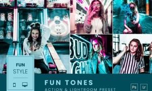 Fun Tones Action & Lightroom Preset