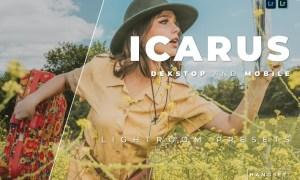 Icarus Desktop and Mobile Lightroom Preset