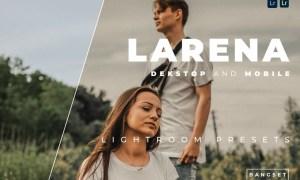 Larena Desktop and Mobile Lightroom Preset