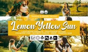 Lemon Yellow Sun Lightroom Presets 5157303