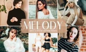 Melody Mobile & Desktop Lightroom Presets