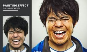 Painting Effect Photoshop Action